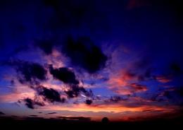 Yesterday evening sunset