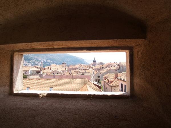 Window on Dubrovnik by gossyboy