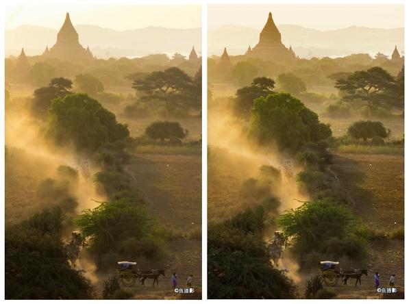 Mysthic of Bagan, Myanmar by Benlib