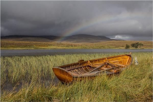 Loch Awe Rainbow by AnnChown