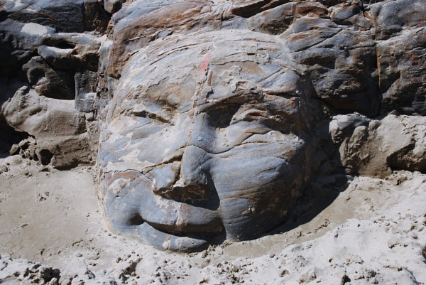Stone face... by Chinga