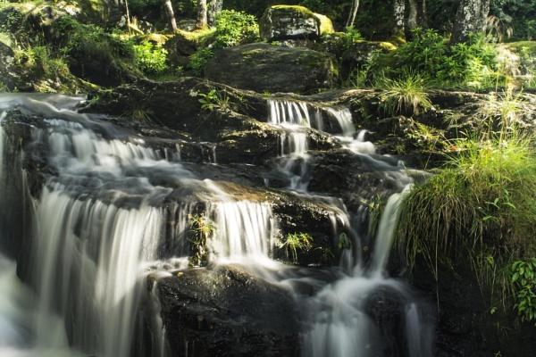 falls at inversnaid by DavyB