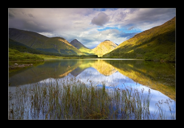 Etive Reflections by jeanie
