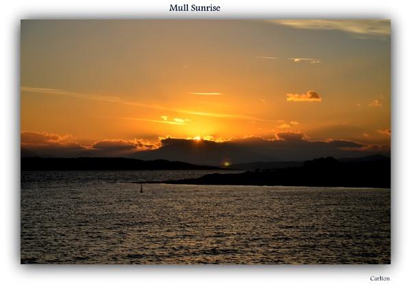 Mull Sunrise by Cavolfiore