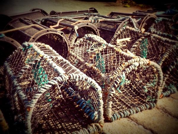 Lobster Pots by scruffytrafford