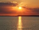 sunset at hope cove in devon