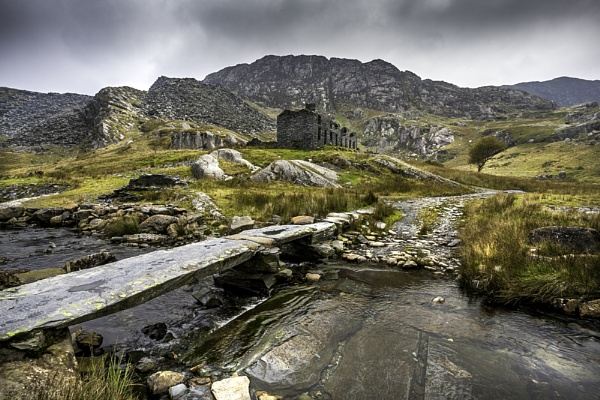 Cwmorthin Quarry Houses by robway