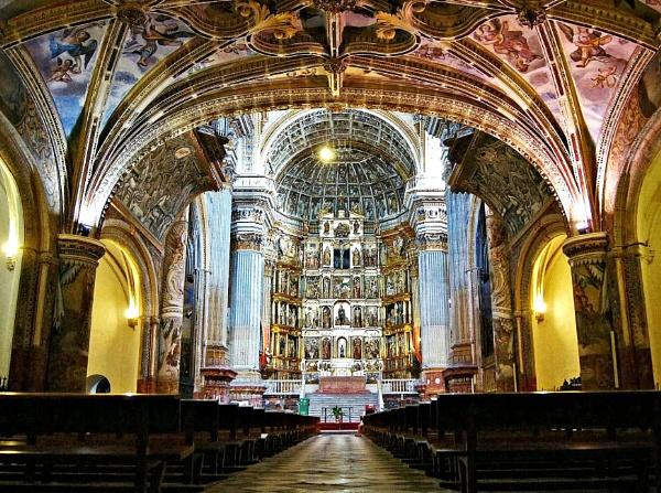 The Monastery of San Jeronimo. Granada, Spain. by richcukc