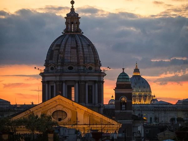 Rome Glory series (Spanish Steps Skyline) by mlseawell