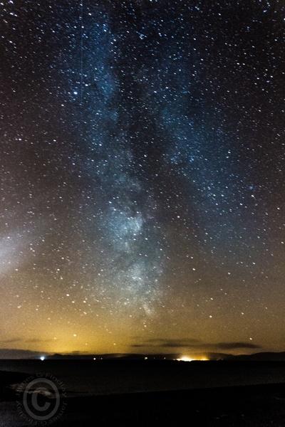 Milkt way over Ayrshire by jazzygf
