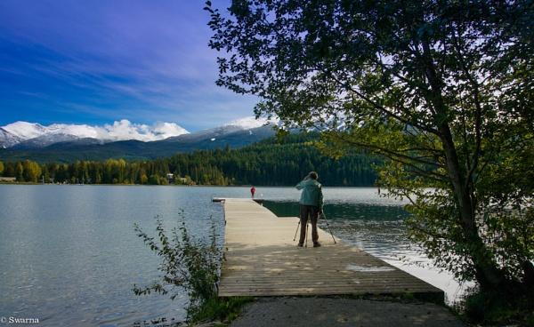 Photographer - Alta Lake BC by Swarnadip