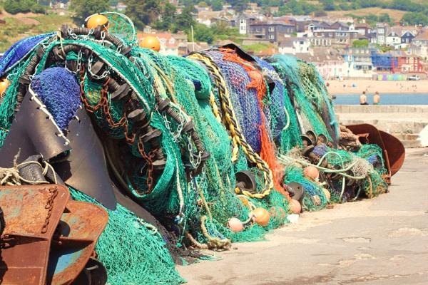 Dorset Fishing Nets by KIWIGIRL78