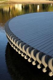 Platform on the lake