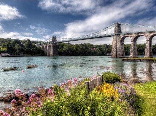 Menai Bridge by david hunt