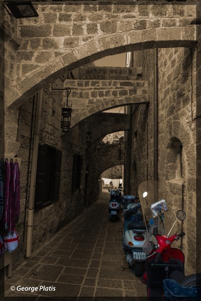Medieval pathway by GeorgePlatis