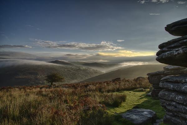 Combestone Tor by Devon_Sunsets