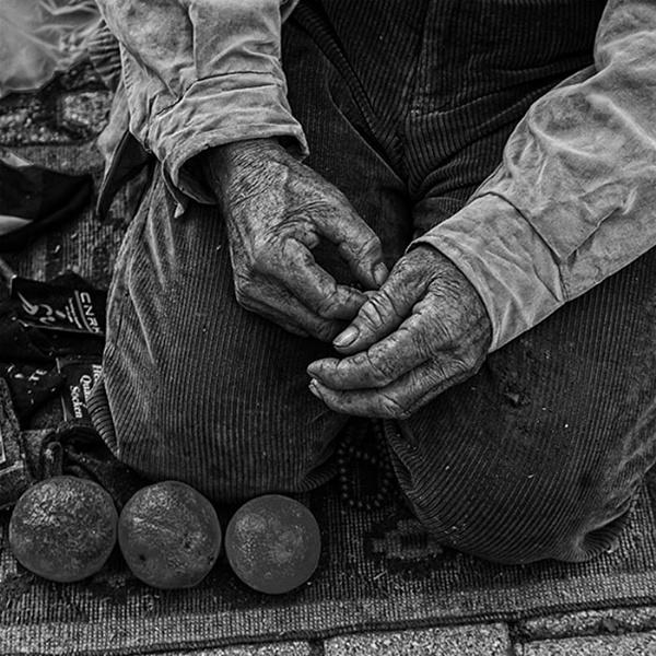 The Orange Seller by danbrann
