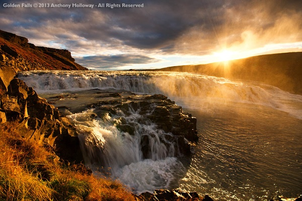 Golden Falls by AntHolloway
