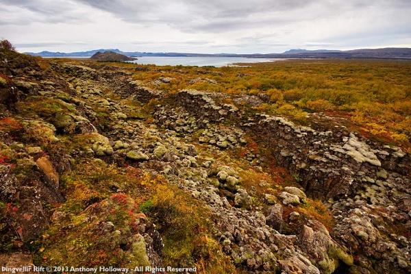Þingvellir Rift by AntHolloway