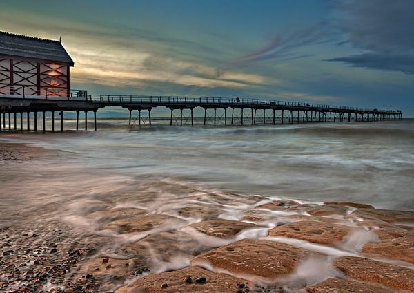 Saltburn Pier by pdove
