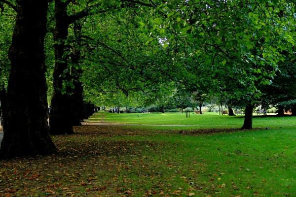 Autumn in London by HoneyT