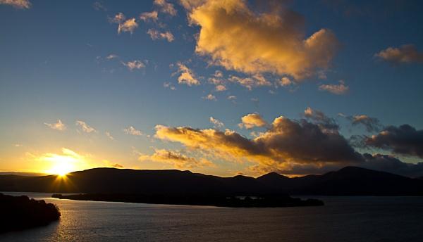 Sunset on Loch Lomond. by moiral