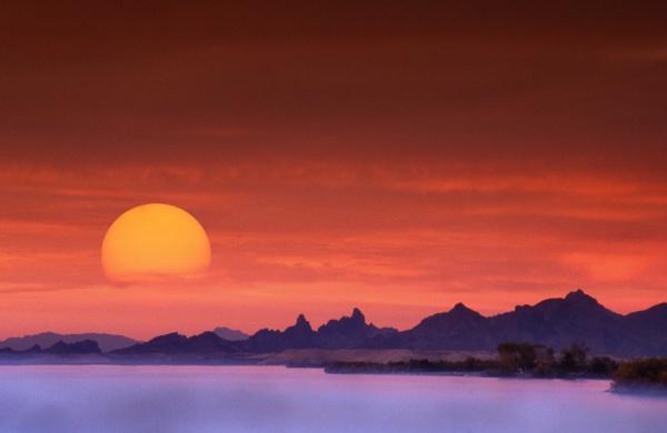 Lake Havasu sunset by Adamzy