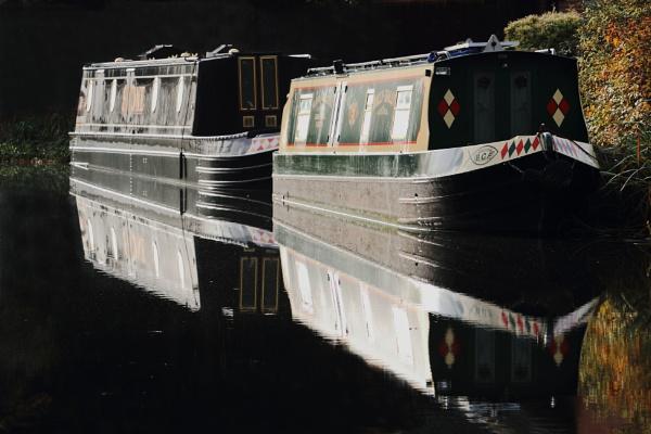Narow boats by Adamzy