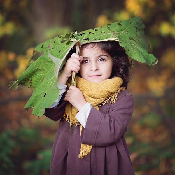 Under the leaf by ZanetaFrenn
