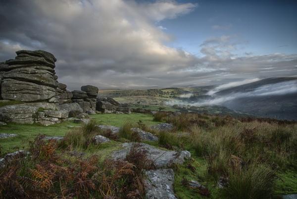 Combestone Tor Dartmoor by Devon_Sunsets