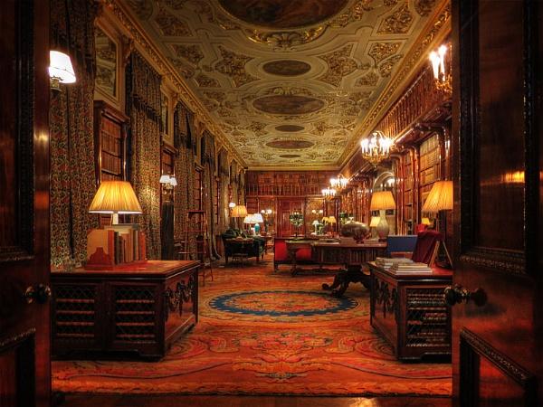 Chatsworth Library by Bainy