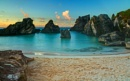 Sunrise over Baby Cove, Bermuda