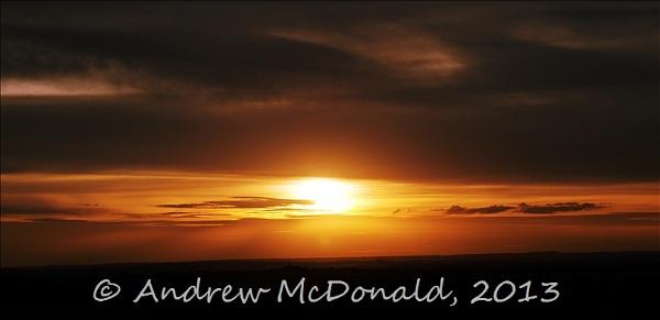 Belvoir Sunset by andymcdonald