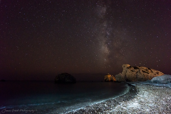 Aphrodites Milky Way by jamesgrant