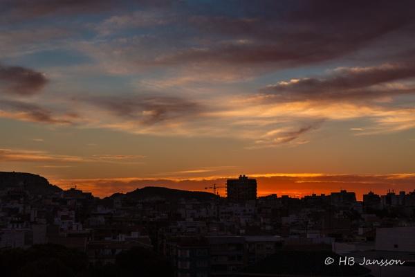 Sunrise over Alicante by HBJ