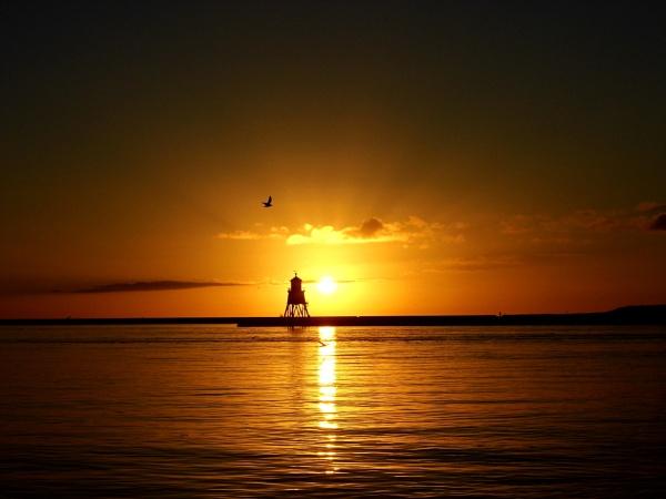 sunrise coast by paulpirie