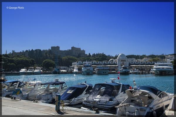 Rhodes the gem of Mediterranean by GeorgePlatis