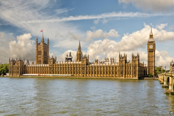 Westminster Palace by Valegorov