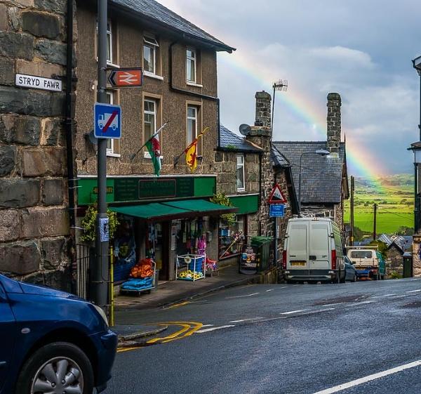 Harlech Rainbow by JJGEE