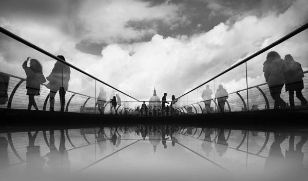 Millenium bridge reflections by Kate11171