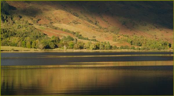 Late sun on Loch Leven. by myrab
