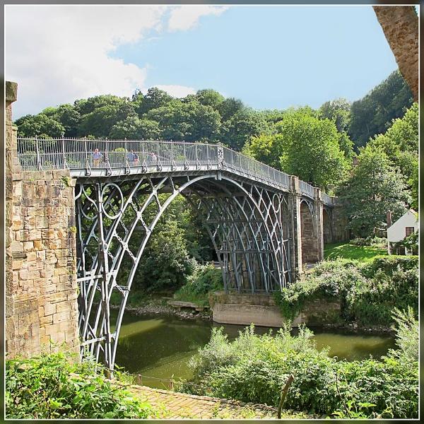 Iron Bridge by Sylviwhalley