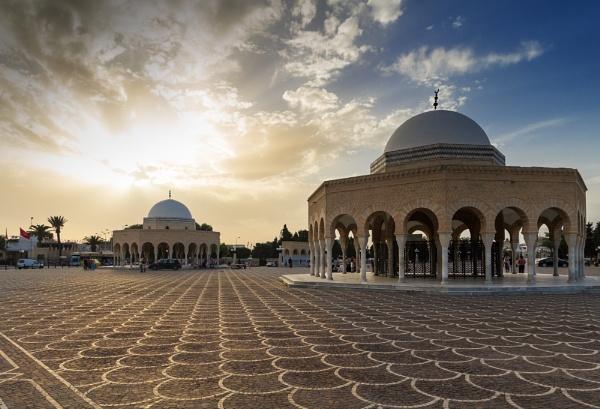 Mausoleum, Al Munastir, Tunisia._ by MiqsPix