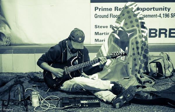Guitarist by Swarnadip