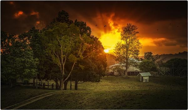 Burning Sun by deguest