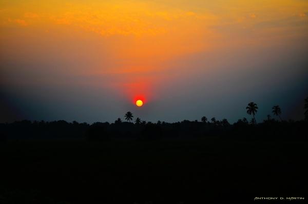 Sunset In Canacona by martinda46