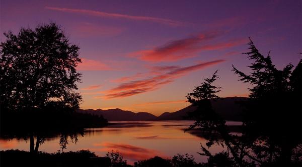 Loch Linnhe Sunset by Taff