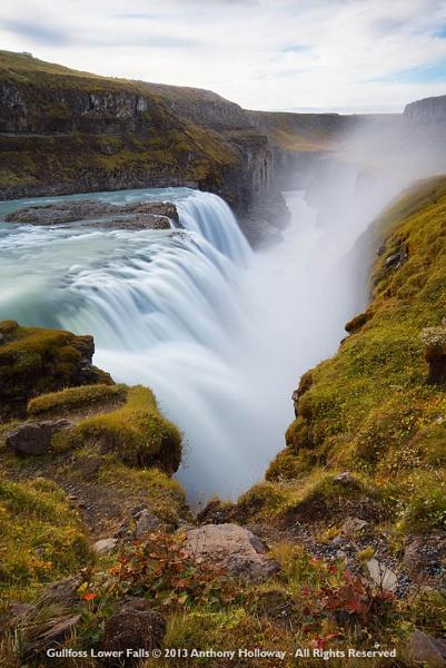 Gullfoss Lower Falls by AntHolloway
