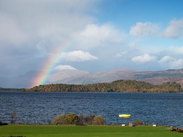 Ben Lomond Rainbow by camay