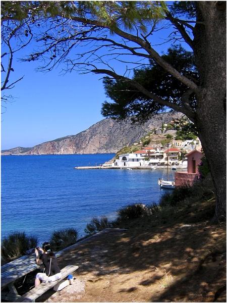 Assos,Kephalonia,Greece by badgerwil70